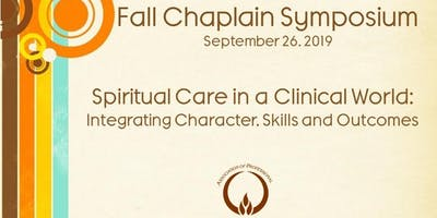 APC Fall Chaplain Symposium Denver Remote Participation