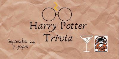 Harry Potter Movie Trivia - Sept 24, 7:30pm - Garbonzo\
