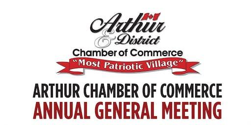 Arthur Chamber AGM Dinner