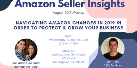 Navigating Amazon Changes in 2019 In Order To Protect & Grow Your Business tickets