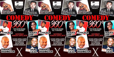 Londo Productions Presents: Comedy 360* tickets