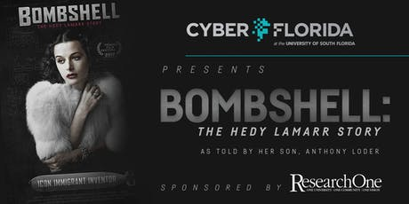 BOMBSHELL: The Hedy Lamarr Story as told by her son, Anthony Loder  tickets