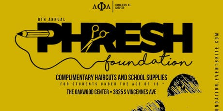 Phresh Foundation: Shaping Up The Community tickets