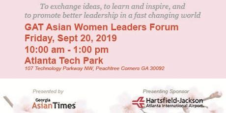 GAT Asian Women Leaders Forum tickets