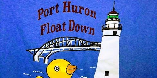 Port Huron Float Down Parking - 2019