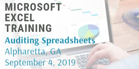 Microsoft Excel 2 Hour Training Class - Auditing Spreadsheets tickets