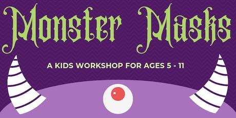 Monster Masks tickets