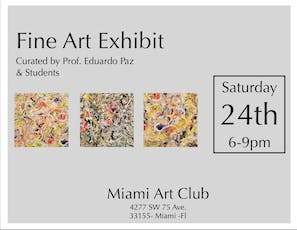 Fine Art Exhibit, Curated by Prof. Eduardo Paz & Students tickets