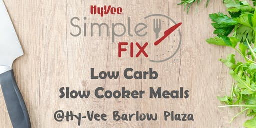 Simple Fix TO GO: Low Carb Slow Cooker Meals