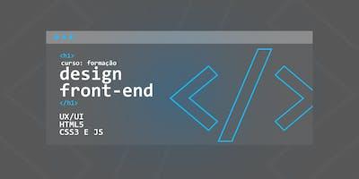 8ª Turma - Curso Formação em Design Front-End - UX/UI, HTML5 CSS3 e JS