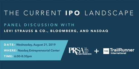 The Current IPO Landscape: A PRSA Meet the Media Event tickets