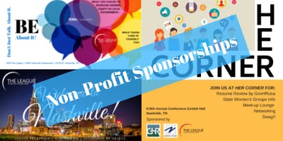 The League: Non-Profit Sponsorships for Nashville Symposium, Networking Event & HERcorner Booth