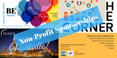 The League: Non-Profit Sponsorships for Nashville Symposium, Networking Event & HERcorner Booth tickets