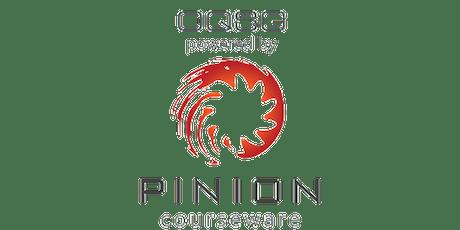 October Pinion LMS Admin Training tickets
