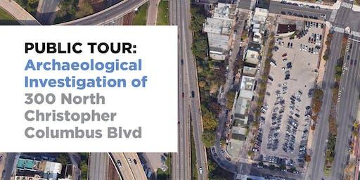 Public Tour: Archaeological Investigation