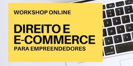 Direito e  E-commerce para Empreendedores ingressos