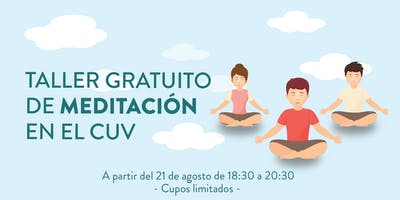 Taller de meditación en el CUV