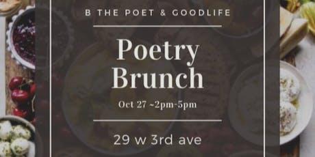 Poetry Brunch  tickets