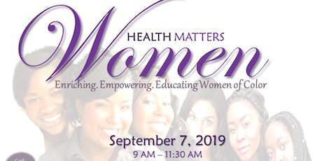Women Health Matters tickets