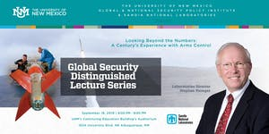 """Distinguished Lecture Series: """"Looking Beyond the..."""