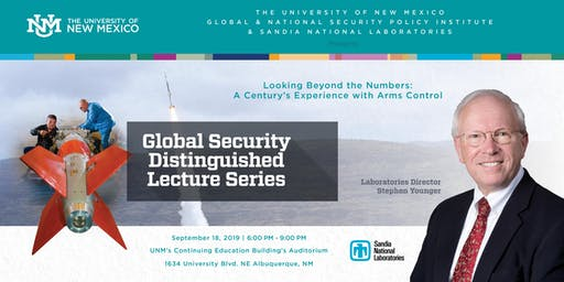 "Distinguished Lecture Series: ""Looking Beyond the Numbers: A Century's Experience with Arms Control"""