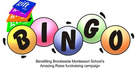 Brookeside's Gift Card Bingo tickets