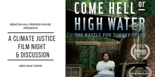 Come Hell or High Water: Climate Justice Film Night