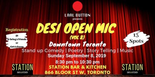 Desi Open Mic Vol 8 (Downtown Toronto)