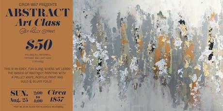 Abstract Art Class! tickets