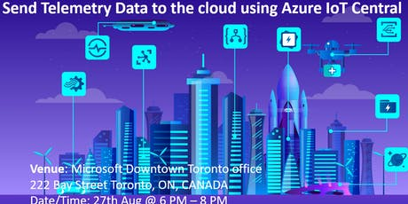 Send Telemetry Data to the cloud using Azure IoT Central   tickets