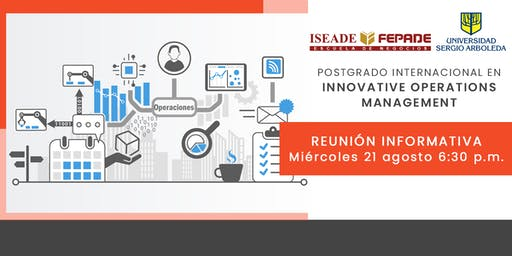 Reunión Postgrado Internacional en Innovative Operations Management