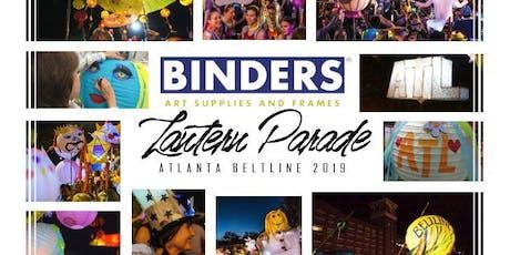 Binders Lantern Parade Workshop 2019 tickets