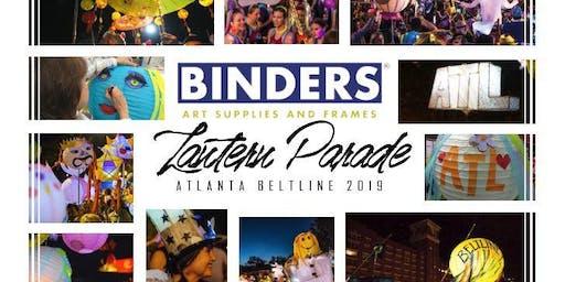 Binders Lantern Parade Workshop 2019