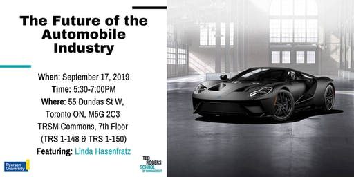 Dean's Speaker Series: The Future of the Automobile Industry