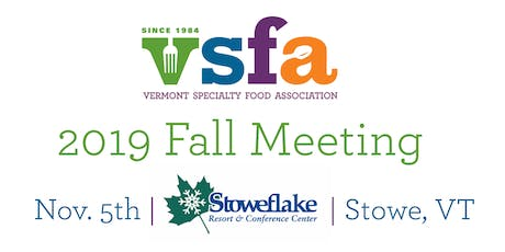 2019 VSFA Fall Meeting tickets