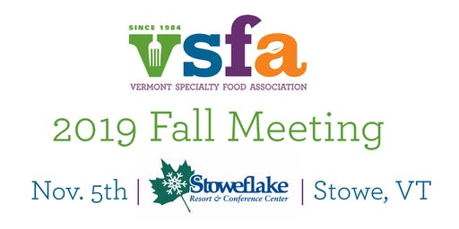2019 VSFA Fall Meeting