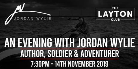 Jordan Wylie - New Book Launch (Running For My Life) tickets