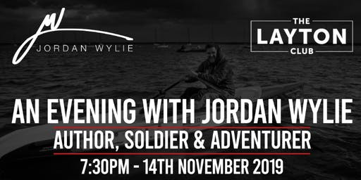 Jordan Wylie - New Book Launch (Running For My Life)