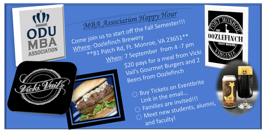 ODU MBAA Happy Hour - Oozlefinch