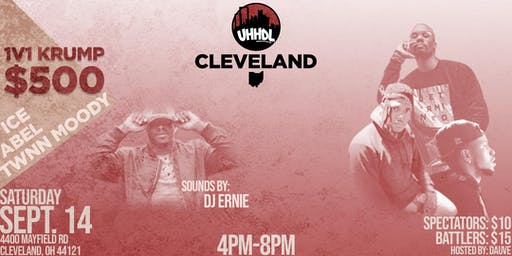 Underground Hip Hop Dance Leauge: Cleveland - 1v1 Krump