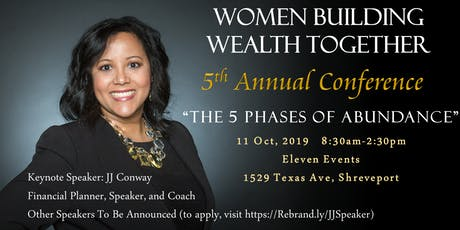 Women Building Wealth Together 5th Annual Conference tickets