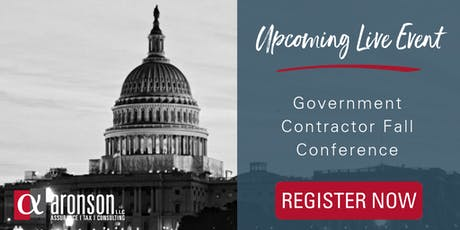 2019 Government Contractor Fall Conference tickets