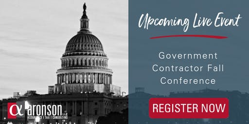 2019 Government Contractor Fall Conference