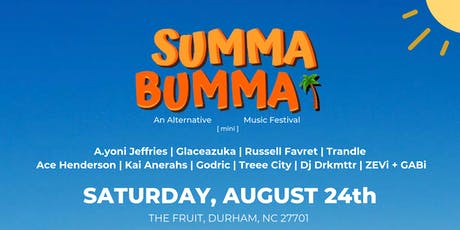 Summa Bumma | An Alternative Mini Music Festival tickets