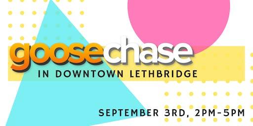 GooseChase in Downtown Lethbridge