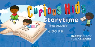 Curious Kids Storytime at James Driver Park