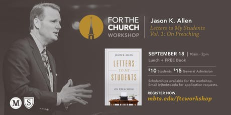 FTC Workshop with Jason K. Allen tickets