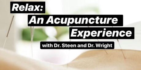Relax: An Acupuncture Experience tickets