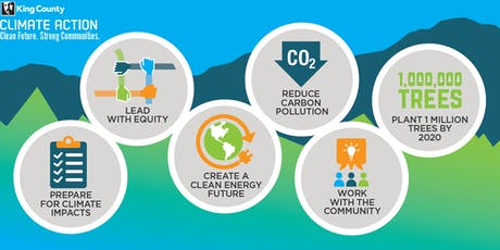 King County 2020 Strategic Climate Action Plan Public Workshop - Highline College, Des Moines tickets