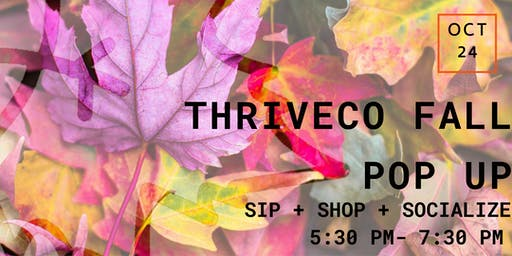 ThriveCo Fall Pop Up